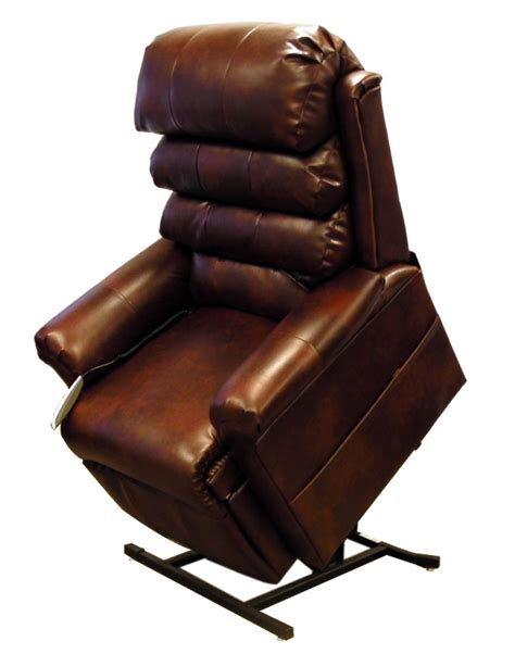 pride leather recliner electric lift chair ebay