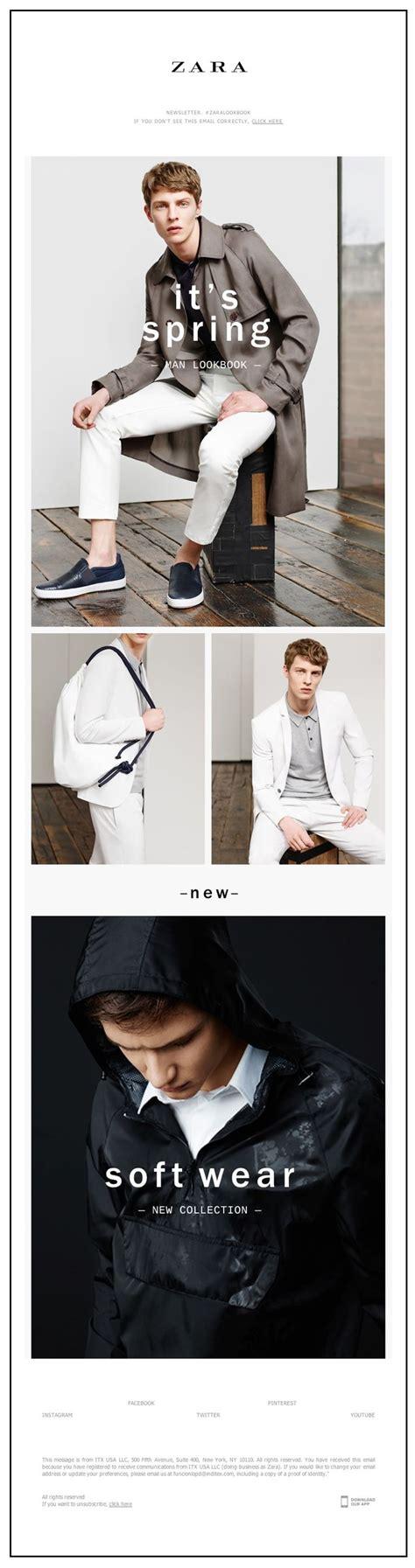 zara newsletter photo email design www datemailman fashion newsletters 17 best ideas about zara store on zara trousers topshop and zara
