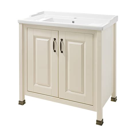 Traditional Bathroom Vanity Units Uk Alverton Traditional Vanity Unit With Basin Plumbing