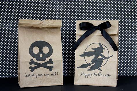 printable halloween bag decorations cute food for kids 27 diy creative treat bag party