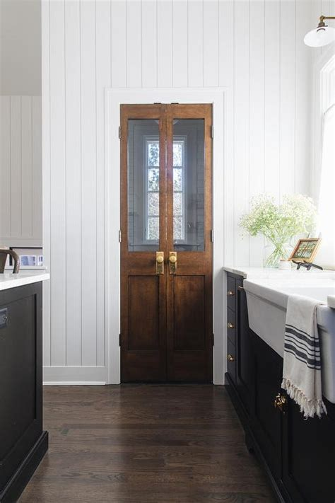 pantry  bi fold doors country kitchen atlanta