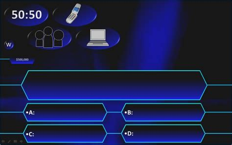 who wants to be a millionaire powerpoint template with powerpoint millionaire template who wants to be a