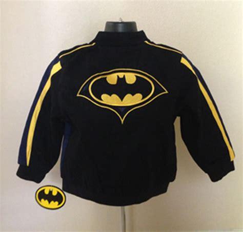 jh design batman jacket batman kids black twill jacket by jh design