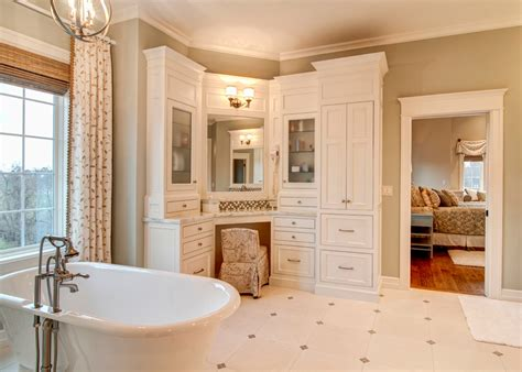 corner vanity cabinet bathroom traditional with bathroom
