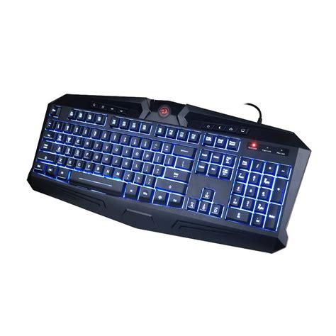K503 Harpe Keyboard Gaming 7 Color Led Backlit redragon k503 harpe 7 color led backlit gaming keyboard