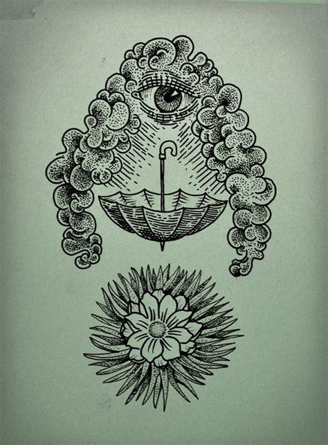 tattoo eye flower cloud eye flower tattoo on behance