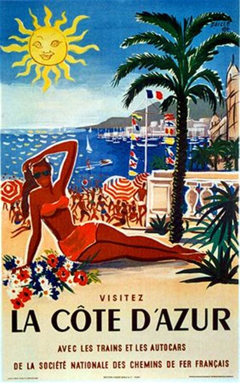 cannes riviera vintage travel poster 17 best images about retro posters pics on