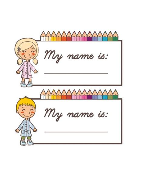 printable name tags teachers 48 best stationery printable bundles for school images on