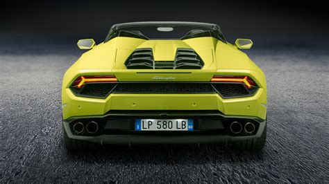 lamborghini back lamborghini huracan spyder goes rear wheel drive for 2017