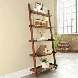 Leaning Bookshelf Of The Day Jcpenney Wide Leaning Bookshelf