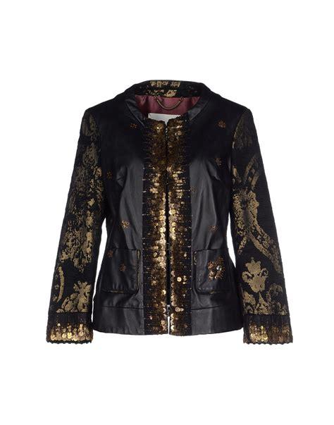 Zaskia Zipper Blazer lyst bazar deluxe jacket in black