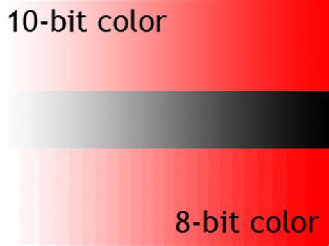 10 bit color 8 bit color rgb versus 10 bit color 4 2 2