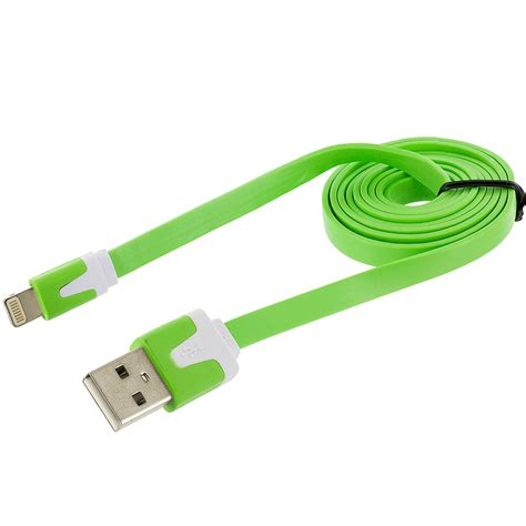 Usb Data Cable noodle flat sync usb data charger cable cord 3ft for