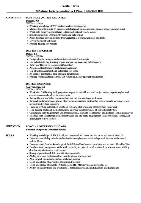 quality engineer resume brilliant ideas of certified quality
