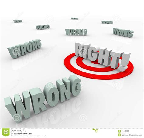 how the choose the best right vs wrong target words choose correct answer choice