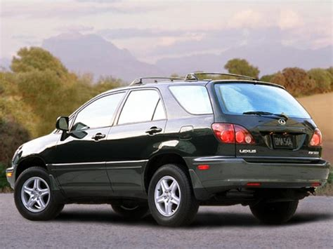 lexus rx300 1999 lexus rx 300 reviews specs and prices cars com