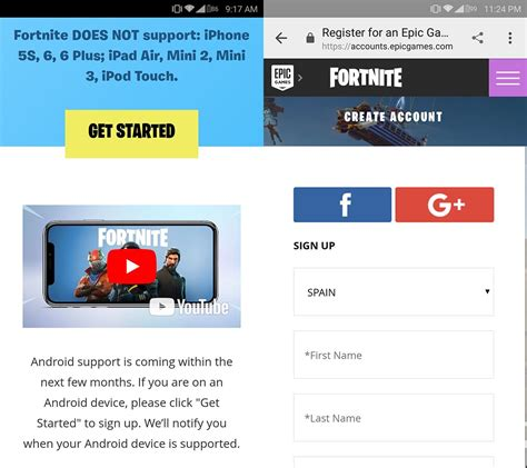 fortnite android beta how to pre register to play the fortnite closed beta on