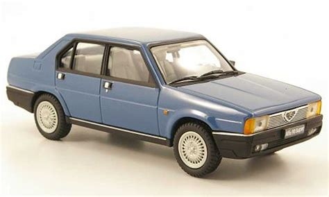 pego car alfa romeo 90 super blue 1984 pego diecast model car 1 43