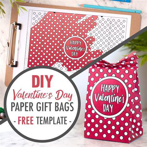 diy free free diy paper gift bag template sarah renae clark