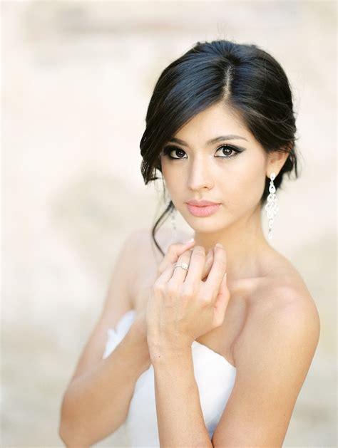 asian bridesmaid hairstyles with color romantic garden fresh california wedding modwedding