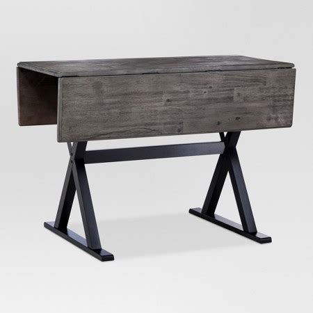 40 Square 40 quot square drop leaf rustic dining table threshold target
