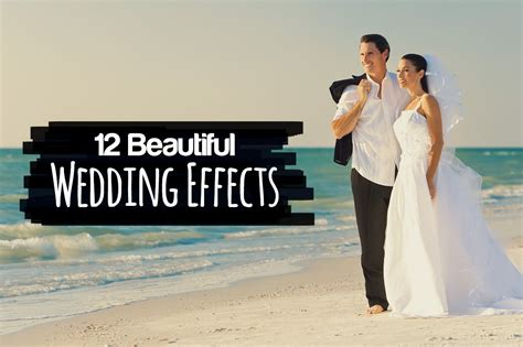 tutorial photoshop wedding photos free download 5 effects for wedding photographers