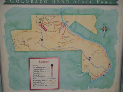 gorman falls map gorman falls picture of colorado bend state park bend