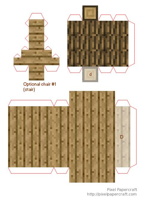 House Papercraft - paper minecraft house template www pixshark images