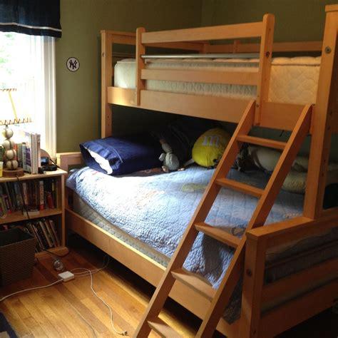 ethan allen bunk beds ethan allen solid wood bunk bed full size bottom twin top