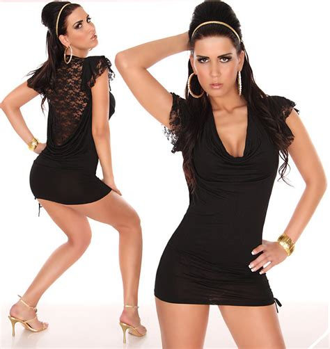 Dress Vintagesexy Dressmini Dressdress mini dress lace black noble n4892