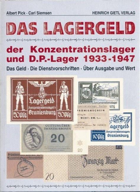 libro 189 und der unsichtbare p 0673 lagergeld denaro del lager il salario del co di concentramento 187 olodogma