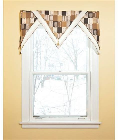 Triangle Valance Pattern | 1000 images about southwest window treatments on pinterest