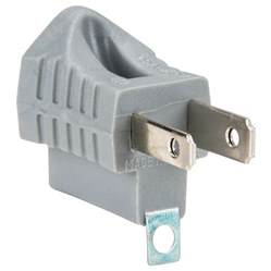 douille oule eaton 419gy ac 3 prong ground lift grounding adapter