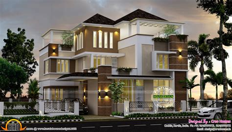 Ultra modern luxury home in kerala keralahousedesigns