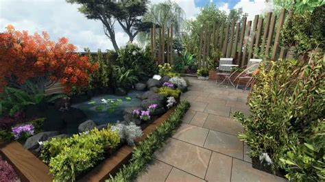 secluded backyard ideas secluded garden design youtube