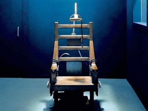 der stuhl der elektrische stuhl eine unn 246 tige leidens geschichte