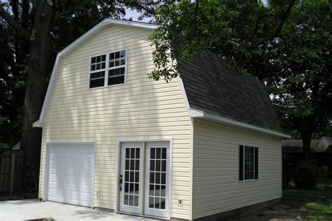 garage style homes 24 x 22 woodstock garage gambrel roof