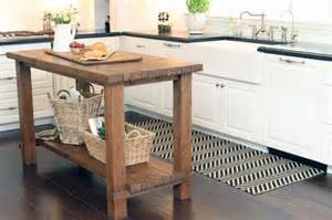 islands in the kitchen 15 reclaimed wood kitchen island ideas rilane