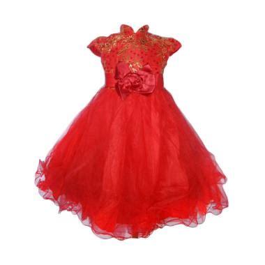 Dress Anak Brukat Gold jual produk dress brokat harga promo diskon blibli