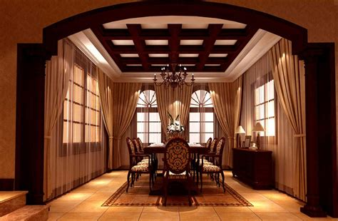 dining room ceiling designs european style dining room ceiling and curtains design