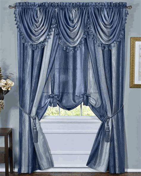 curtains galore ombre semi sheer panels earth achim draperies