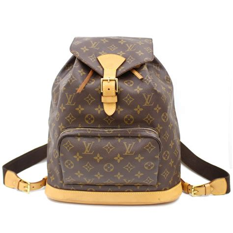 uaa authentic louis vuitton montsouris gm big monogram