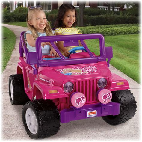 barbie jeep power wheels 174 barbie jammin jeep 174 wrangler pink shop