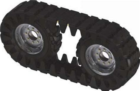 Skid Steer Rubber Tracks by Solideal Skid Steer Loader The Tire Rubber Tracks
