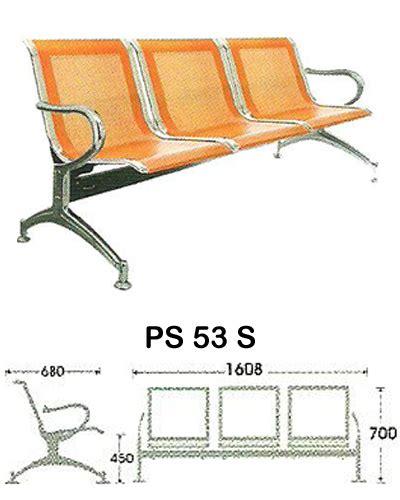 Kursi Tunggu Indachi Ps 53 jual kursi tunggu indachi di pamulang kursi tunggu indachi