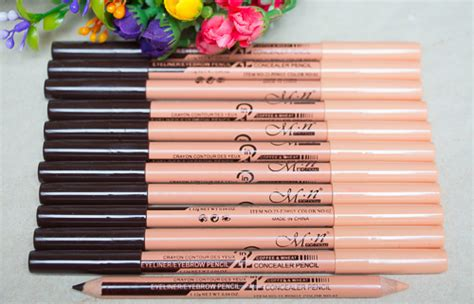 Pencil Mn 2 In 1 Eyeliner Eyebrow Concealer Pencil 2 In 1 Spk 259 mn foundation 4 in 1 mn eyebrow 2 in 1 arsyana kosmetik hazni zahril enterprise ut0003673 d