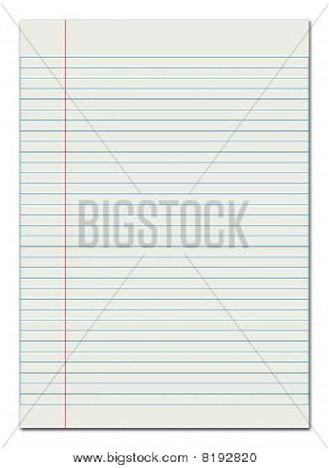 lined paper margin stock photo stock images bigstock