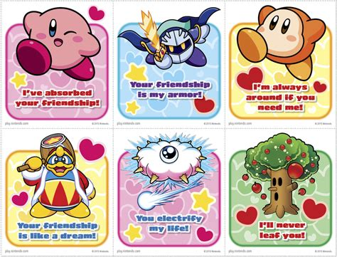 s day card nintendo offers free mario and kirby s day cards gamespot