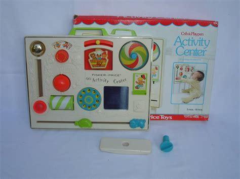 Baby Crib Activity Center Vintage Fisher Price Baby Crib Playpen Activity Center Box Three 3 Tub