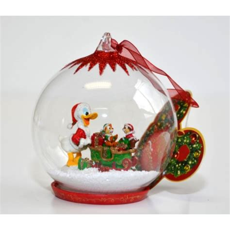 donald duck christmas bauble ornament
